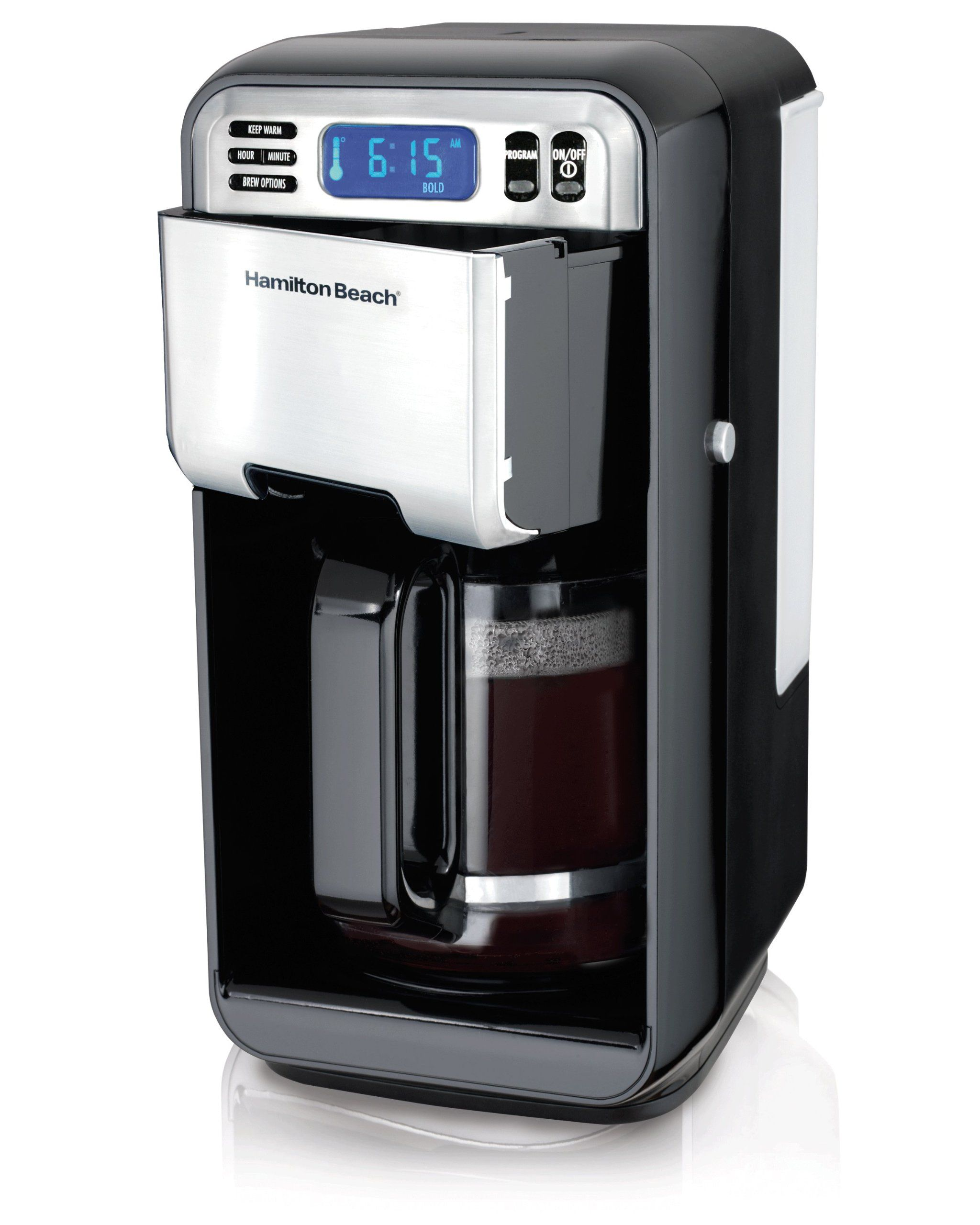 Hamilton Beach 12Cup Digital Coffee Maker, Stainless
