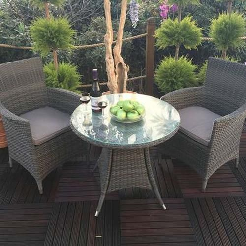 Royal Craft Paris 2 Seat Bistro Set Garden Patio Furniture in 2018