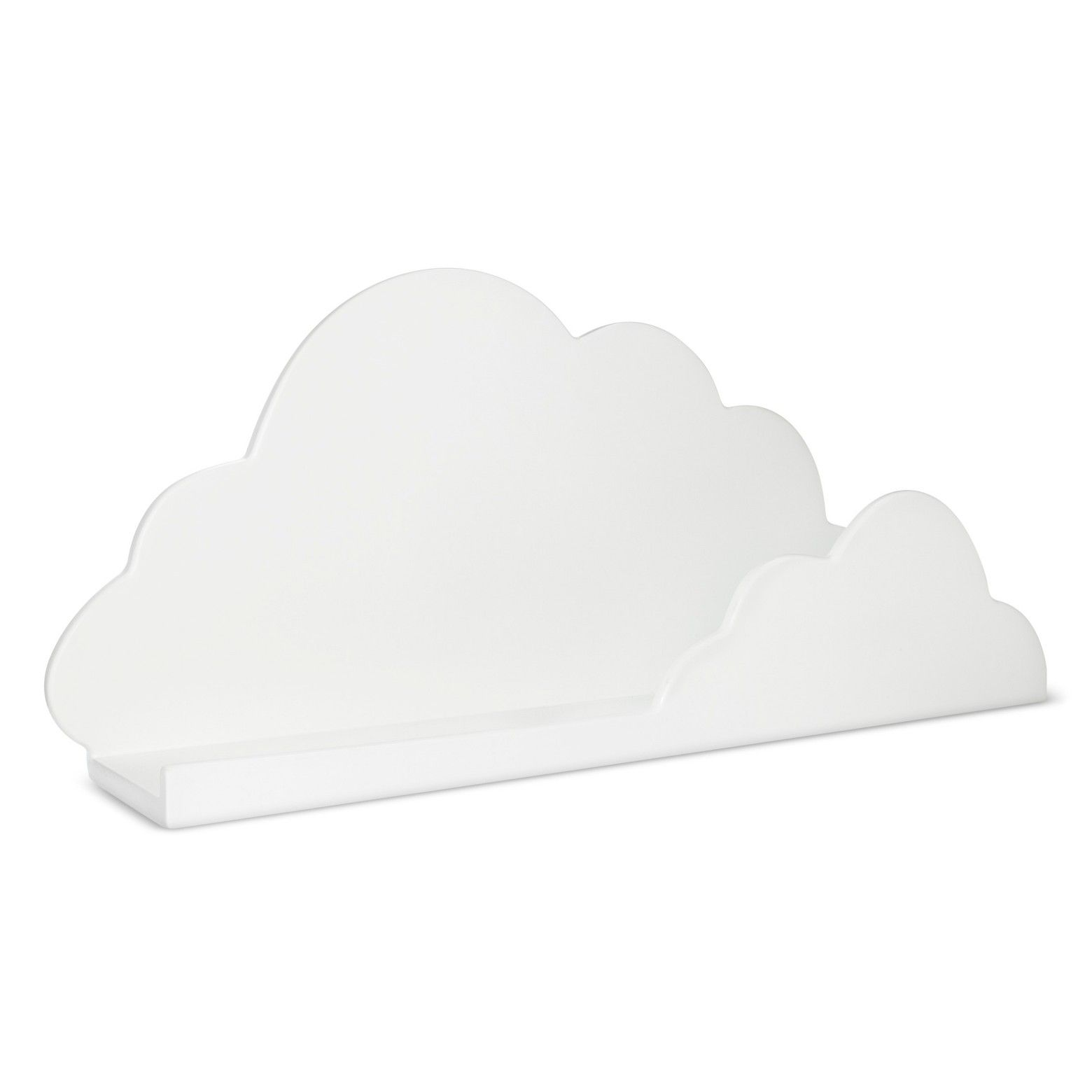 Pillowfort Cloud Decorative Wall Shelf White