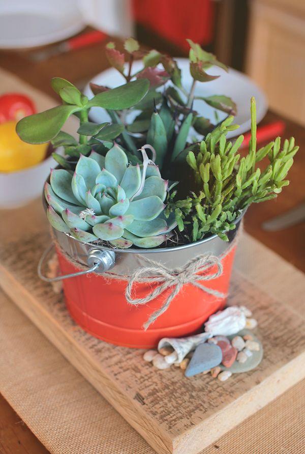 DIY Centerpiece Diy centerpieces, Succulents diy