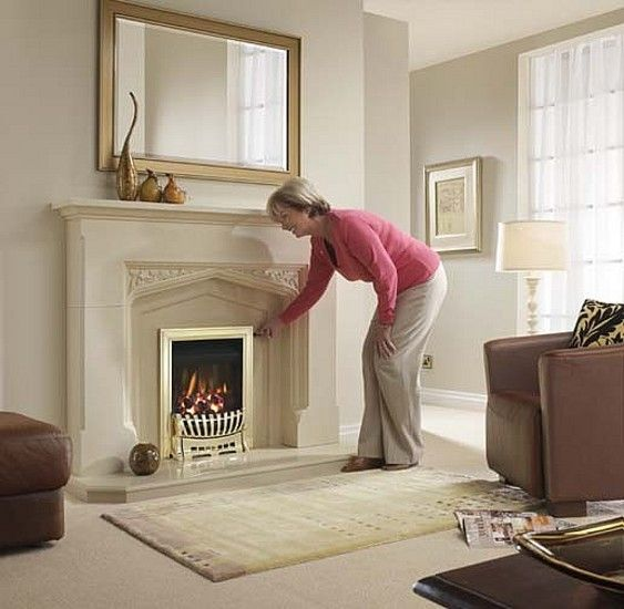eko 3065 gas fire / Gas Fires Electric Fires Stoves Marble Fireplaces / Fireplaces and Fire Accessories