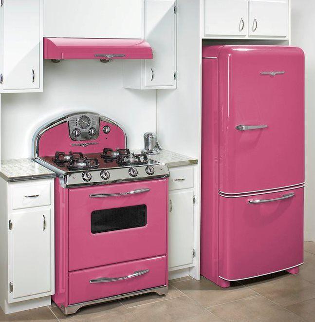 Elmira Stove Works - Northstar - Pink Kitchen | Kitchen | Pinterest ...