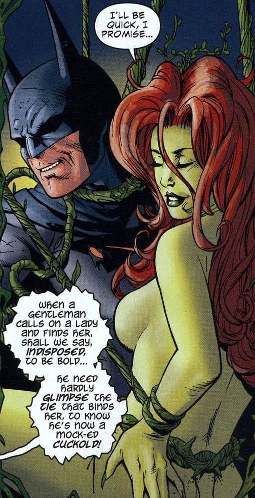 Poison ivy sex