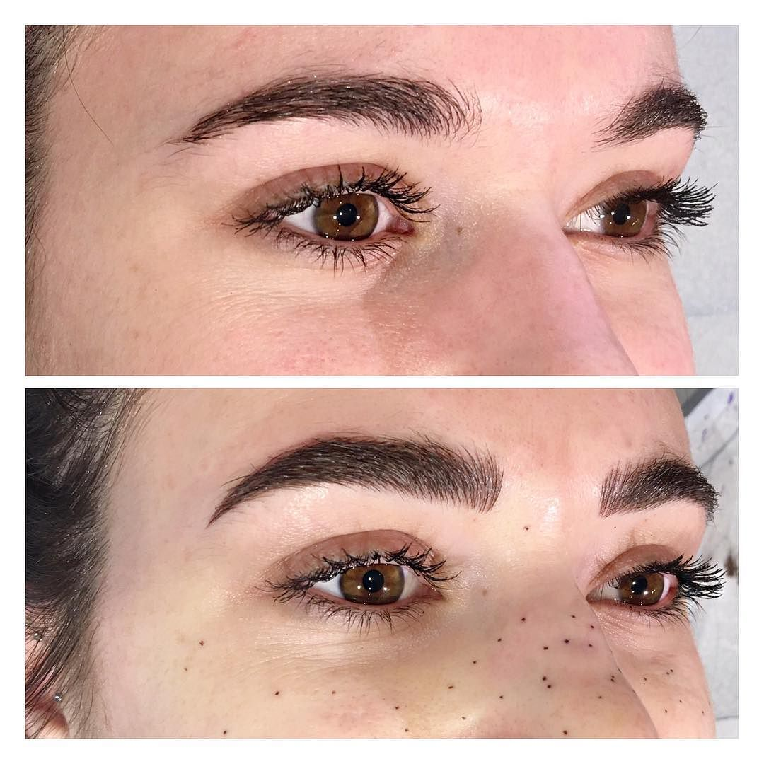 This Lady Flew In From Chicago And Got It All Perfect Brows