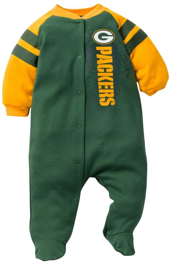 eba6955906e Kohl s Baby Green Bay Packers Footed Bodysuit