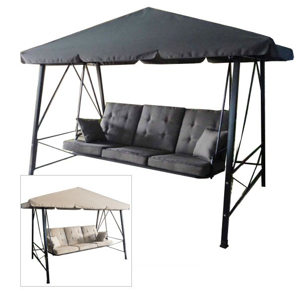 Gazebo 3 Person Swing Rus473c Replacement Canopy With Images