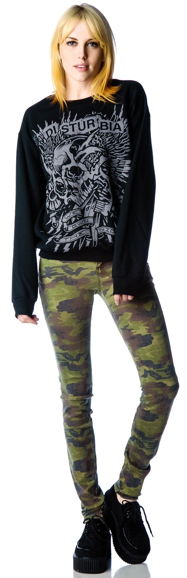 Camo Skinny Jeans #boydollsincamo