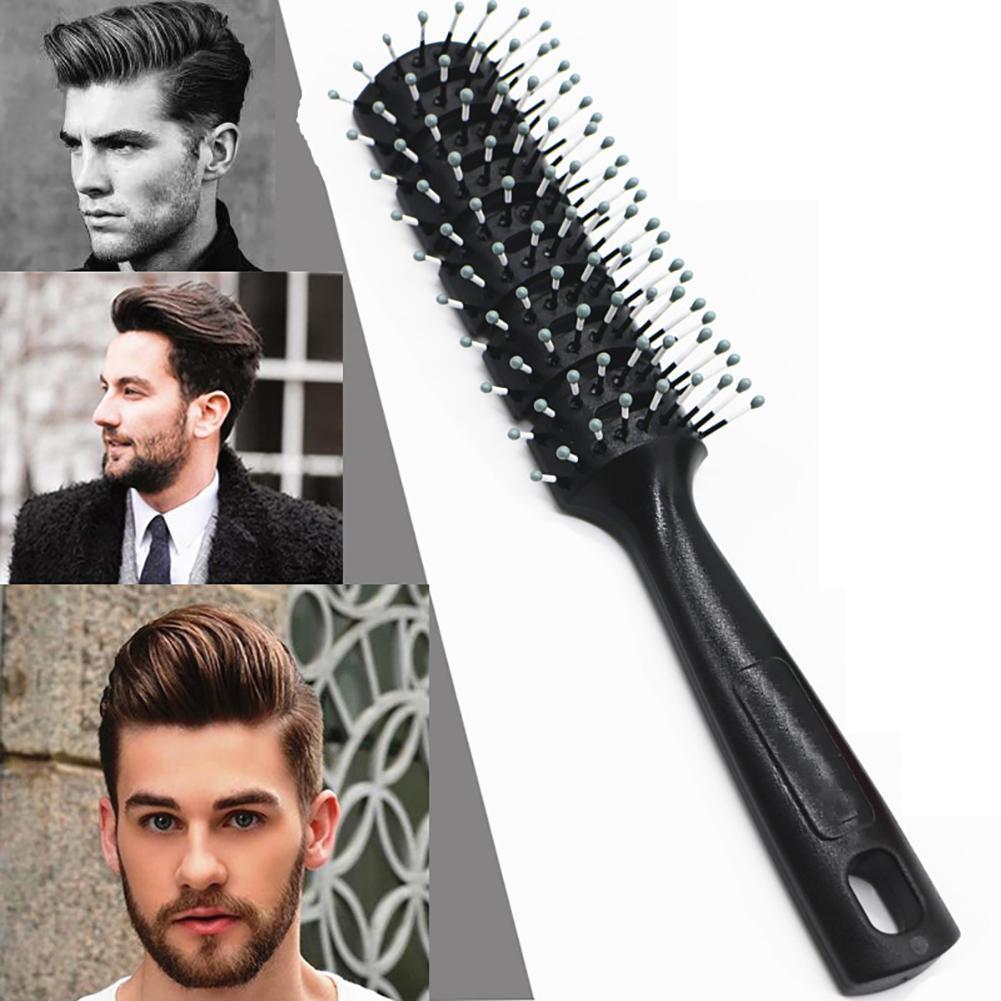 2 06 1pc Men Hair Brush Plastic Round Comb Barber Dressing Salon Styling 5 Cm Ebay Fashion Haarburste Haar Styling Haare Manner