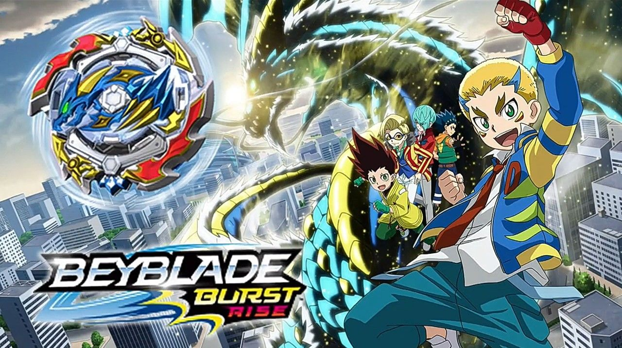 In The English Dubbed 4th Season Which Is Called Beyblade Burst