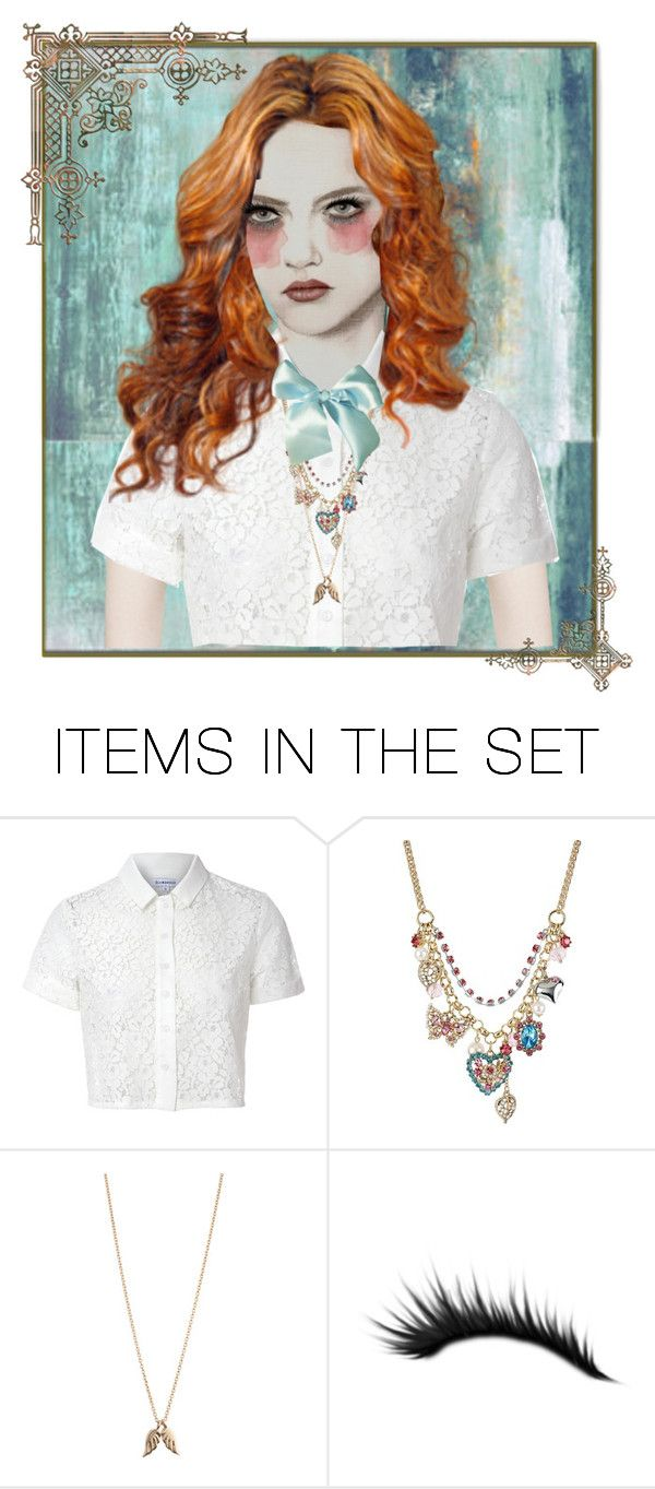 """""""Portrait"""" by skpg ❤ liked on Polyvore featuring art"""