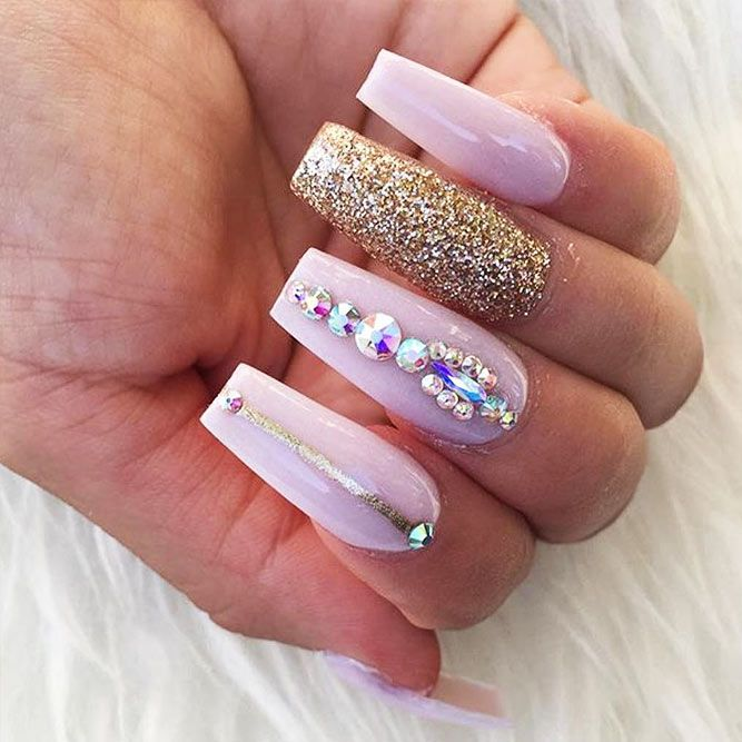 True Embellishments for Your Coffin Nails | Pinterest | Coffin nails