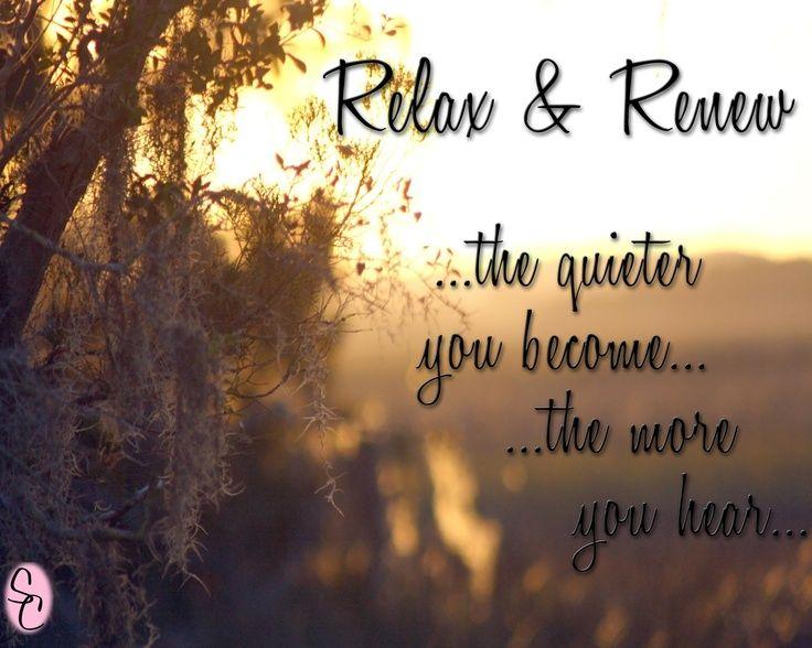 | Relax & Renew