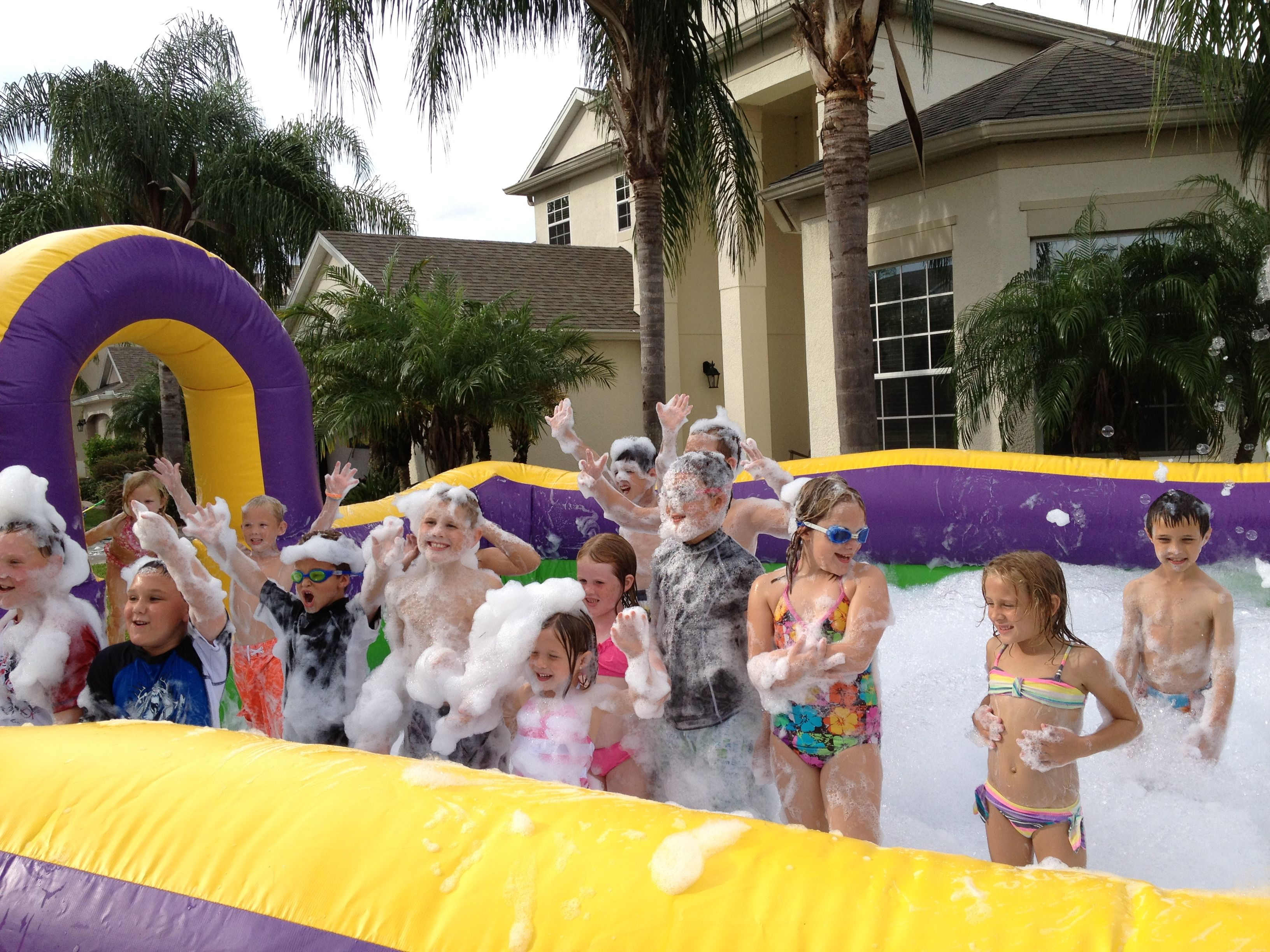 Foam party rent us for your next event