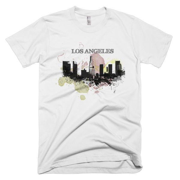 Urban Los Angeles City Short sleeve men's t-shirt