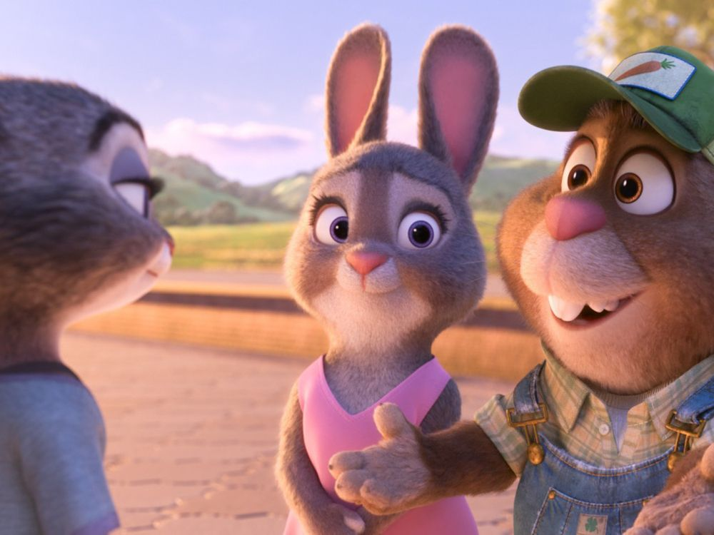 """Walt Disney Studios' """"Zootopia,"""" the animated """"buddy cop"""" film about a rabbit cop and a red fox con that earned $340.5 million in U.S. theaters, remained on top of the national home video sales cha…"""