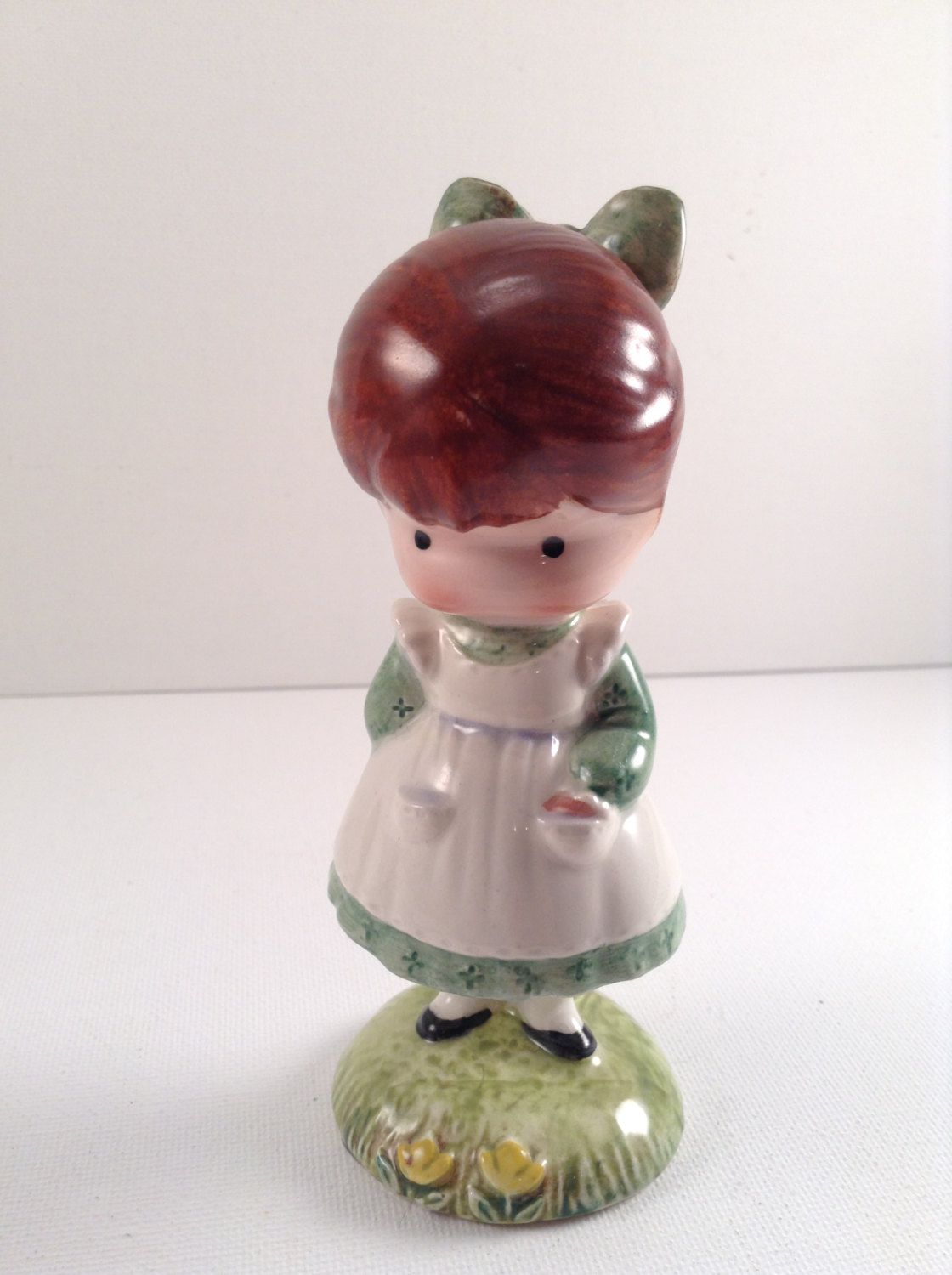 Vintage Joan Walsh Anglund Girl with Doll Figurine - Made in England by CrowsCollection on Etsy