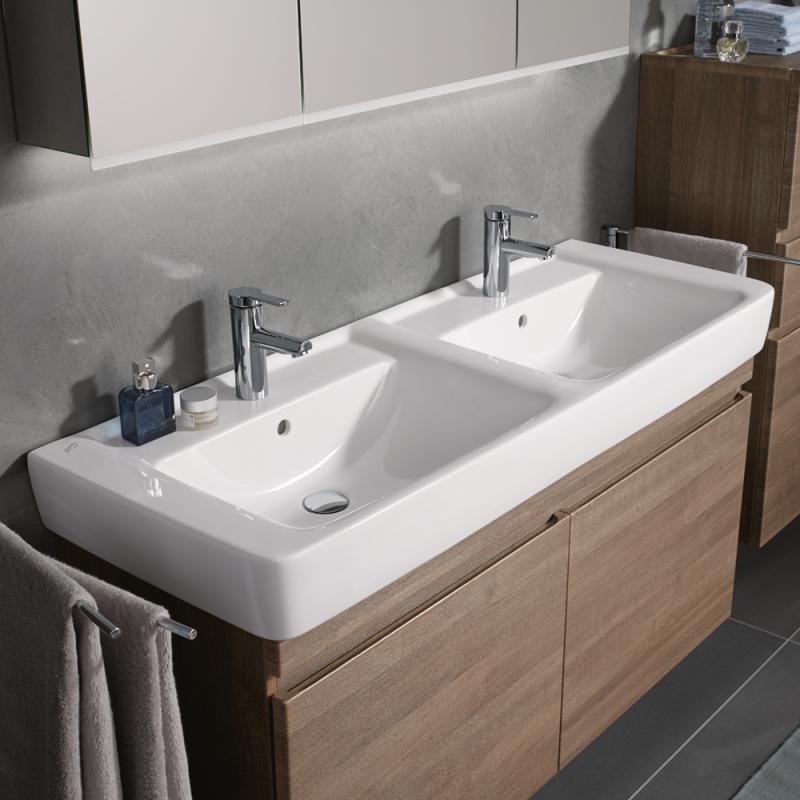 Billig Doppelwaschbecken Doppelwaschbecken Badezimmer Doppelwaschbecken Doppelwaschtisch