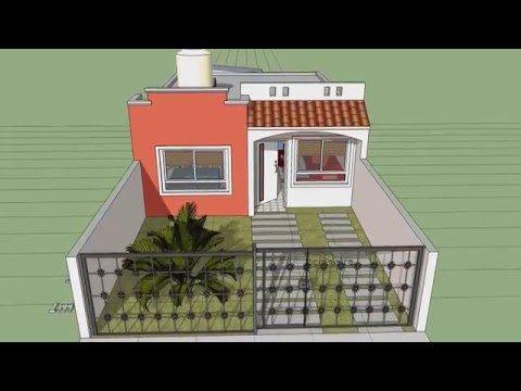 Casa moderna de x un piso condominio valle for Casa moderna 7x20