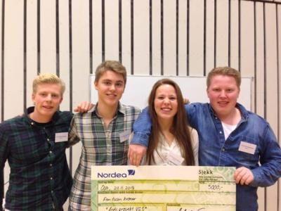 Elevrådet ved Lambertseter har i flere år utmerket seg ved å gjøre det sterkt når årets elevrådspriser blir utdelt: I år stakk de for første gang av med prisen for Årets prosjekt!