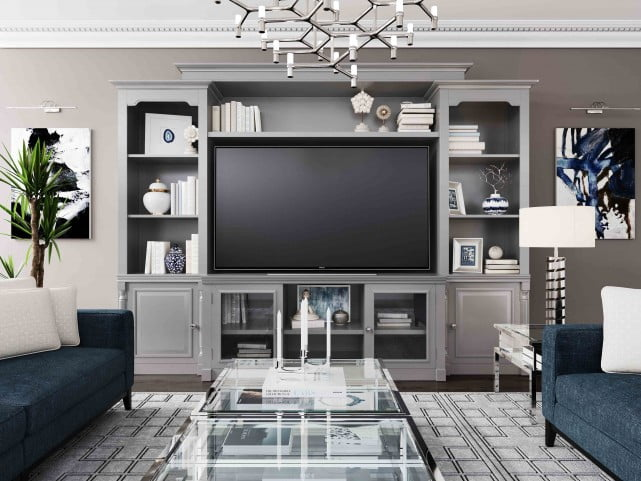 Virginia Grey Entertainment Center Living Room Entertainment Center Living Room Entertainment White Entertainment Center