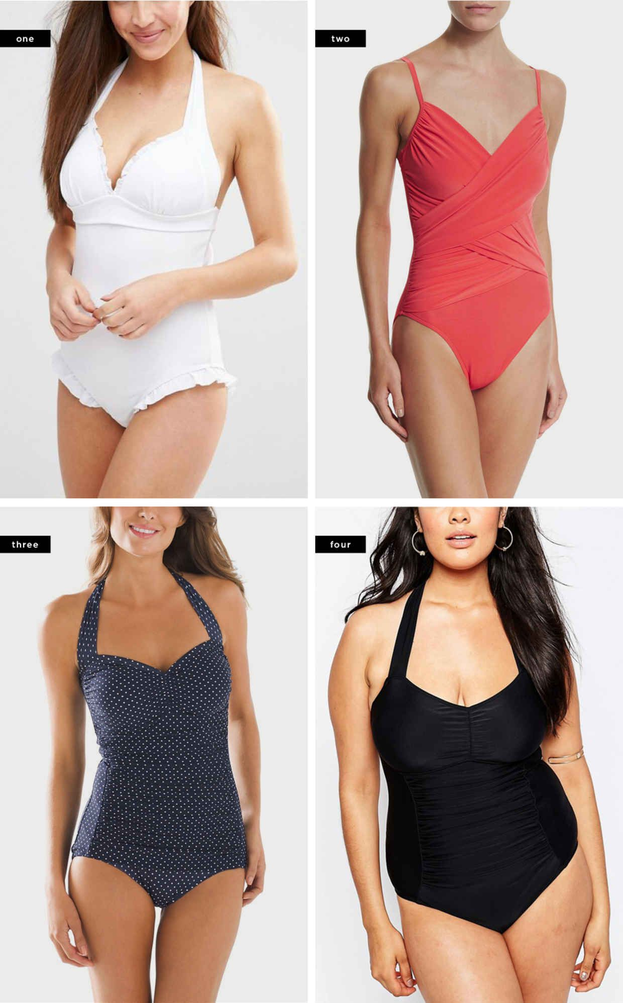 5ad77aa595 The Best One-Piece Bathing Suits for Your Body Type | Verily Style ...