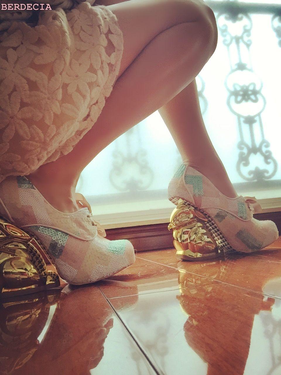 71f9041e44 unique design paillette round toe pumps shallow cut lace up shoes ...