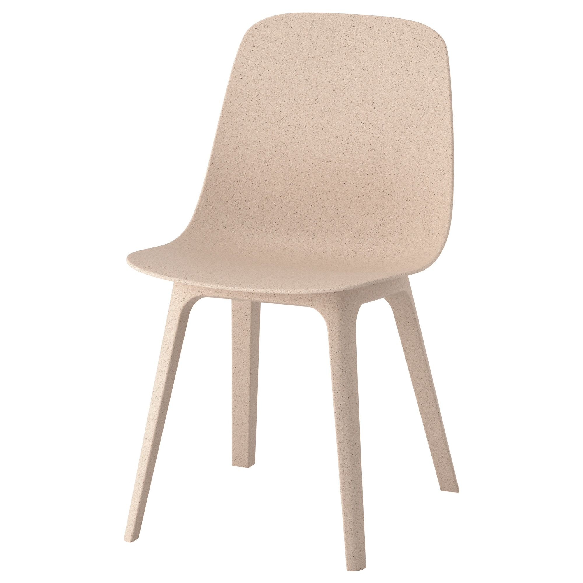 IKEA ODGER White, Beige Chair Ikea dining chair, Dining