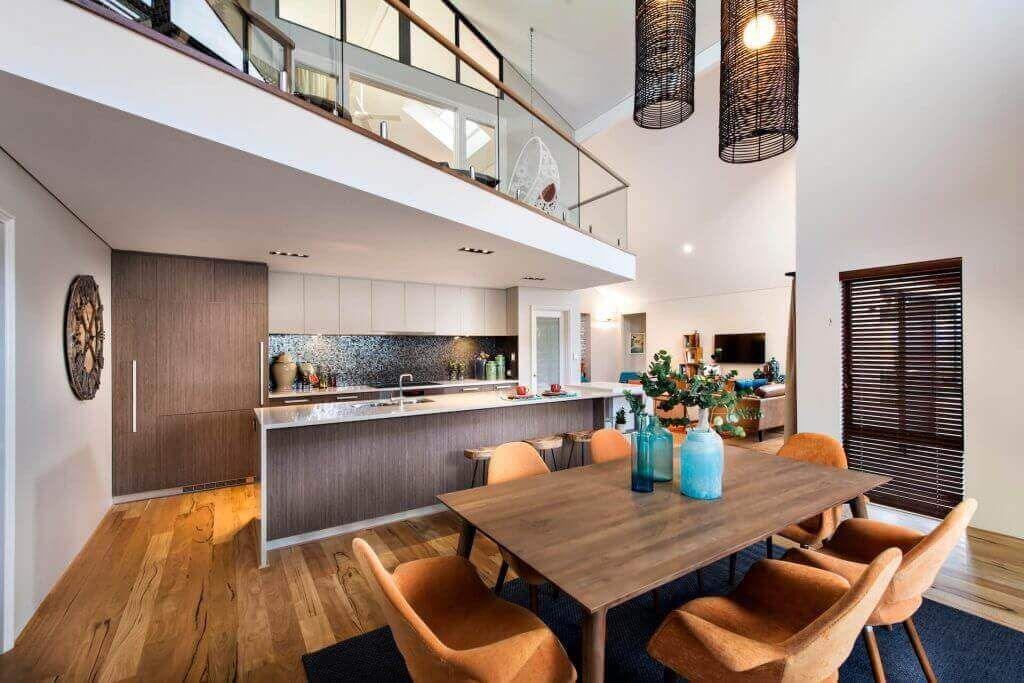 Two Story Loft House Designs 2 Storey Floor Plans Perth Wa