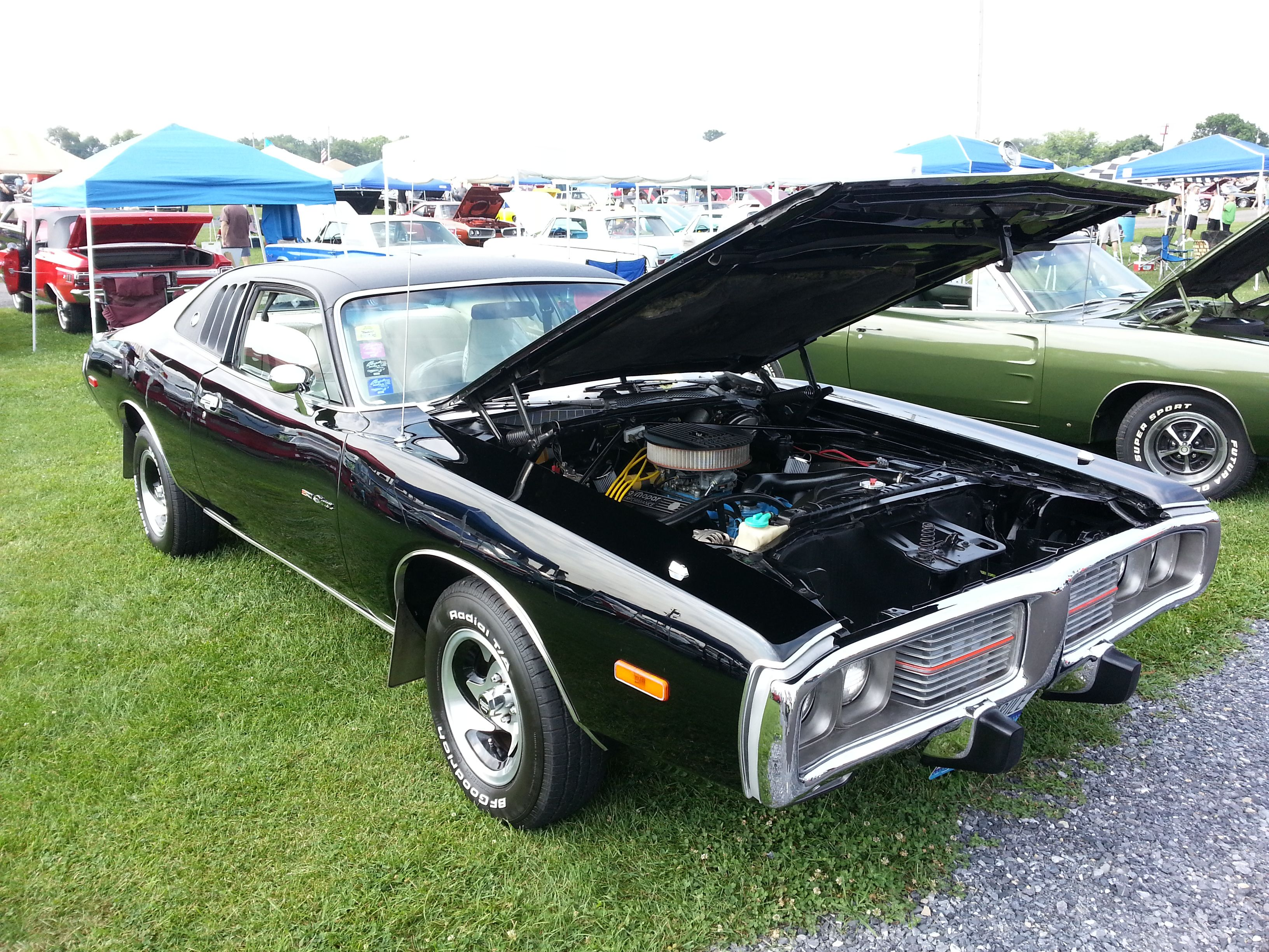 Chrysler Car Show at Carlisle, Pennsylvania 2014 1974 Dodge ...