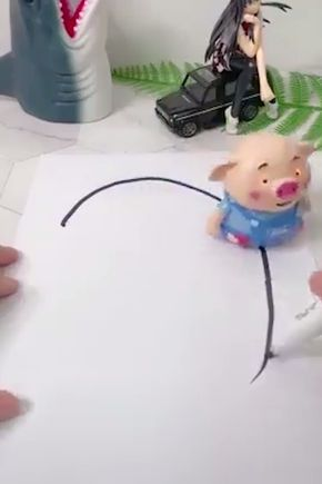 Educational Creative Pen Inductive Toy Pig | Gifts for ...