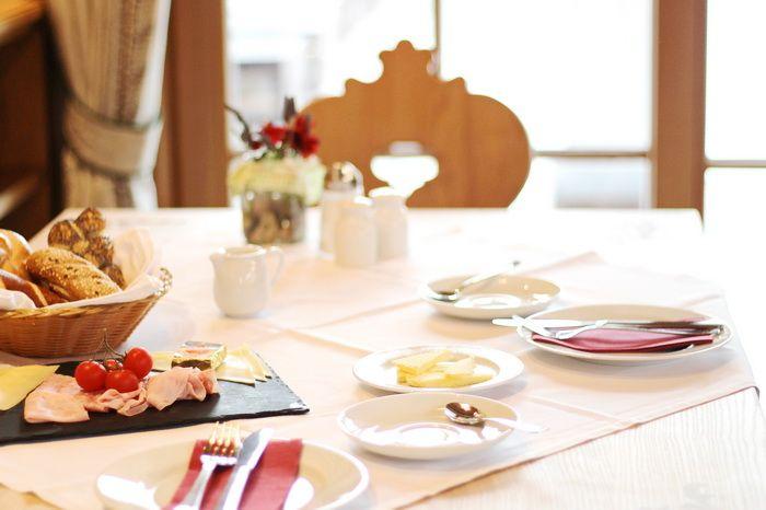 Das Rivus Frühstücken