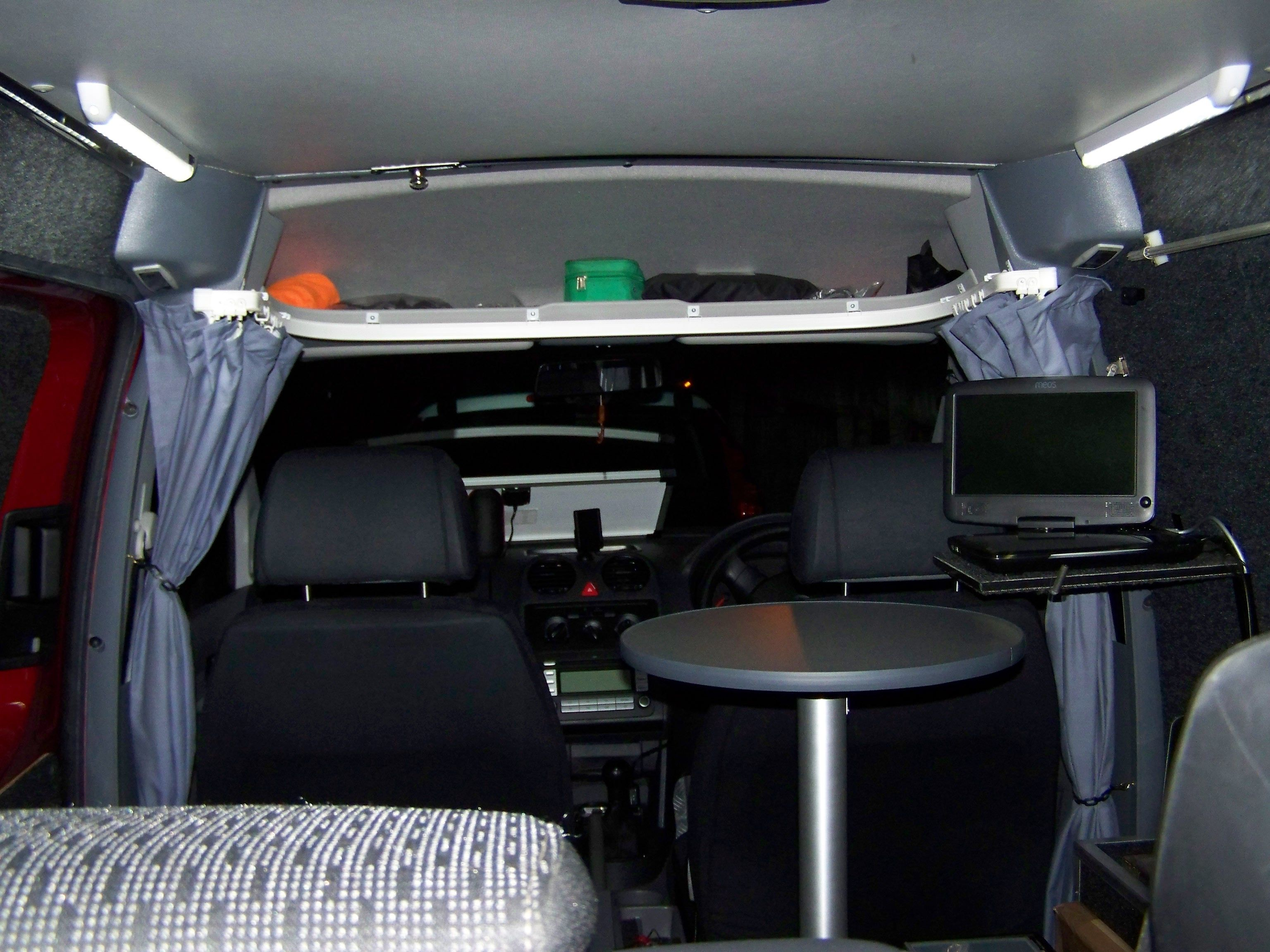 VW CADDY SOLAR CAMPER LED Interior lighting & VW CADDY SOLAR CAMPER LED Interior lighting | MY VW CADDY SOLAR ...