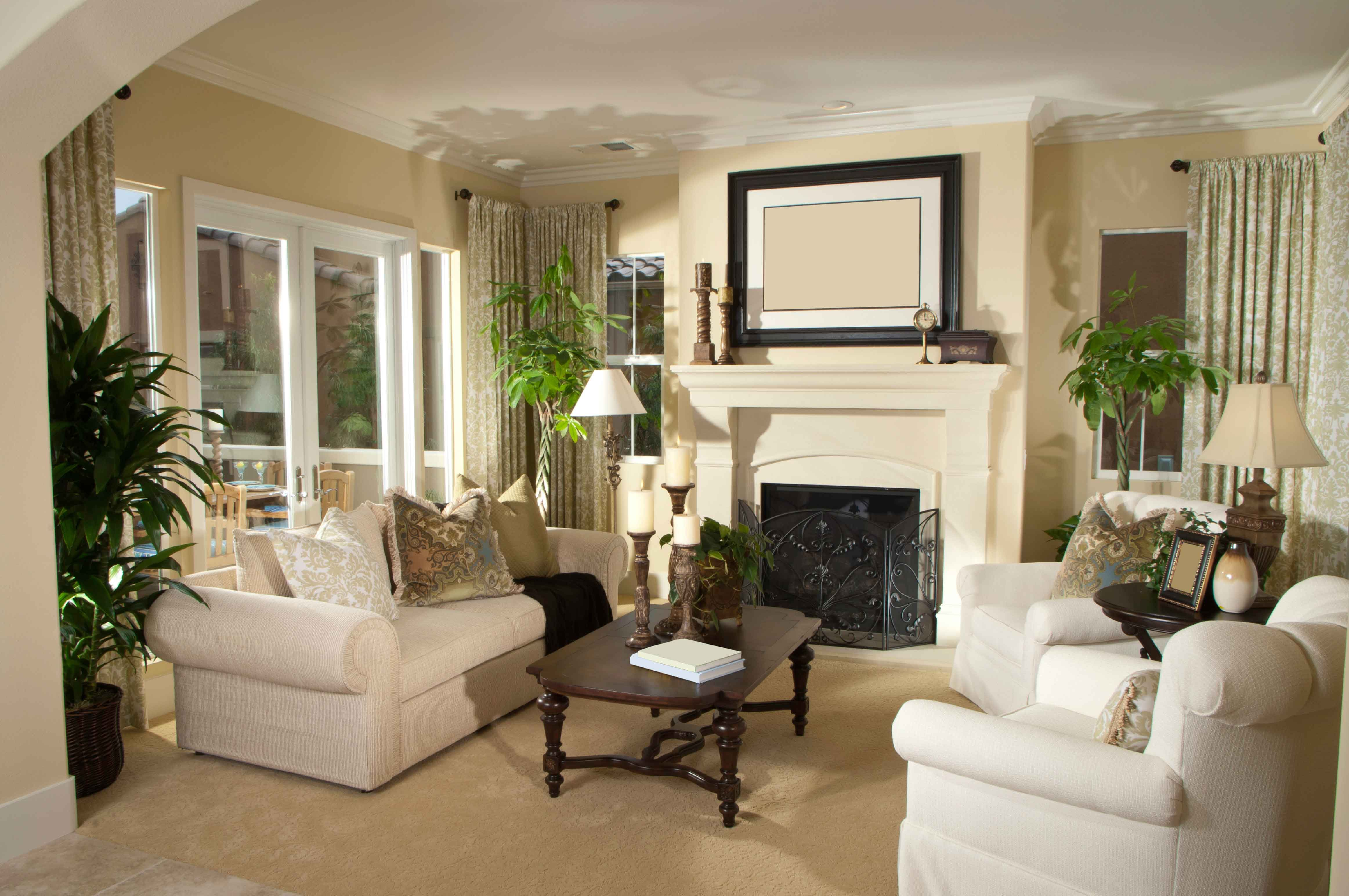 Customize your living room to fit your lifestyle with UBH ... on Fireplace Casual Living id=51560