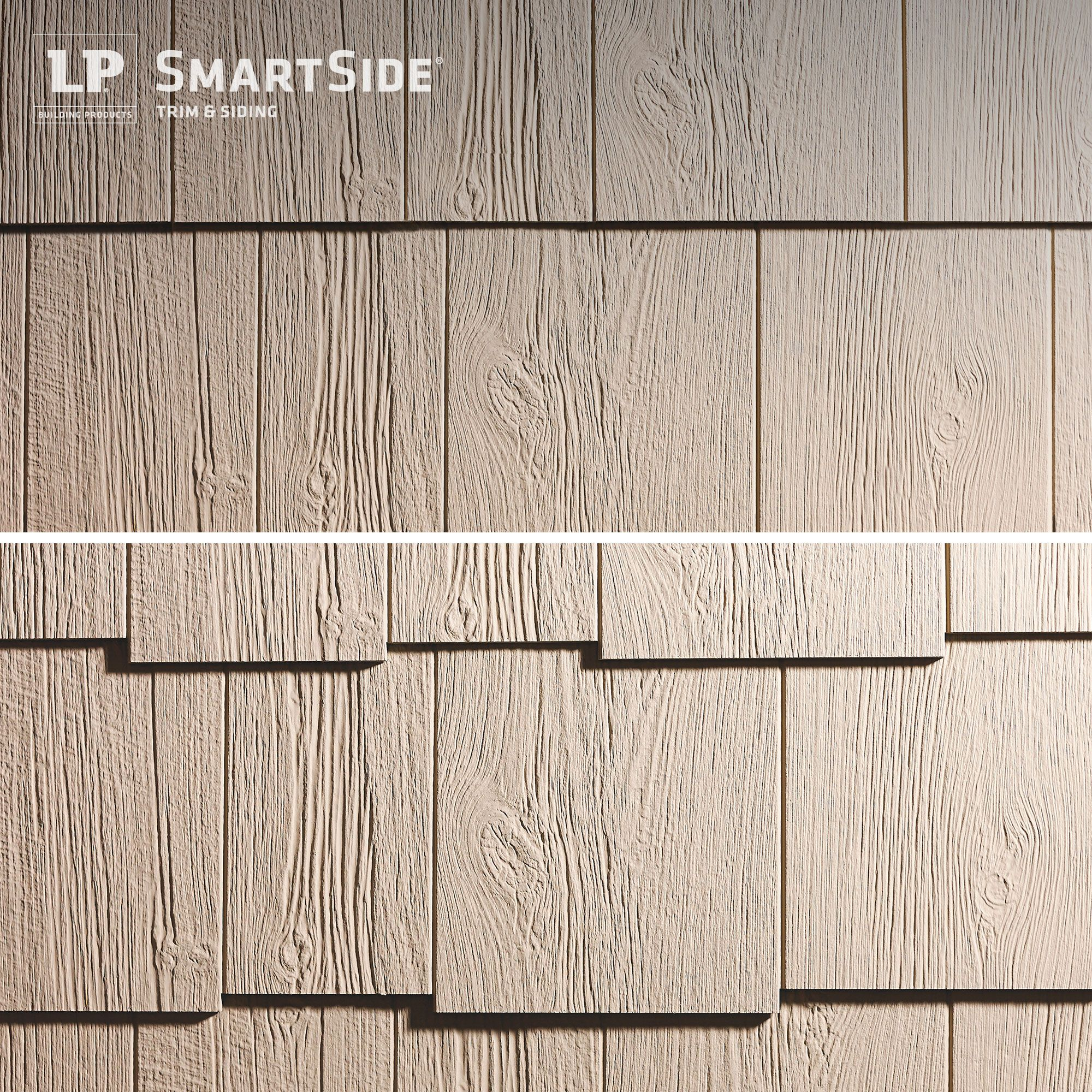 Lp Smartside Cedar Shakes Can Be Used To Create Either A