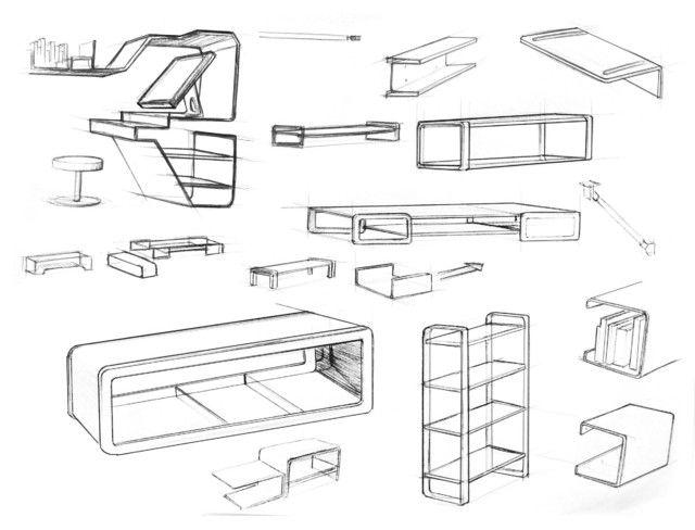 Furniture Design Sketches Modern Inspiration Ideas Furniture Design ...