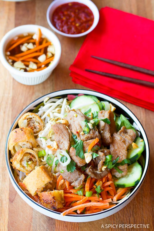 A Spicy Perspective Bun Cha Spicy Recipes Asian Cooking