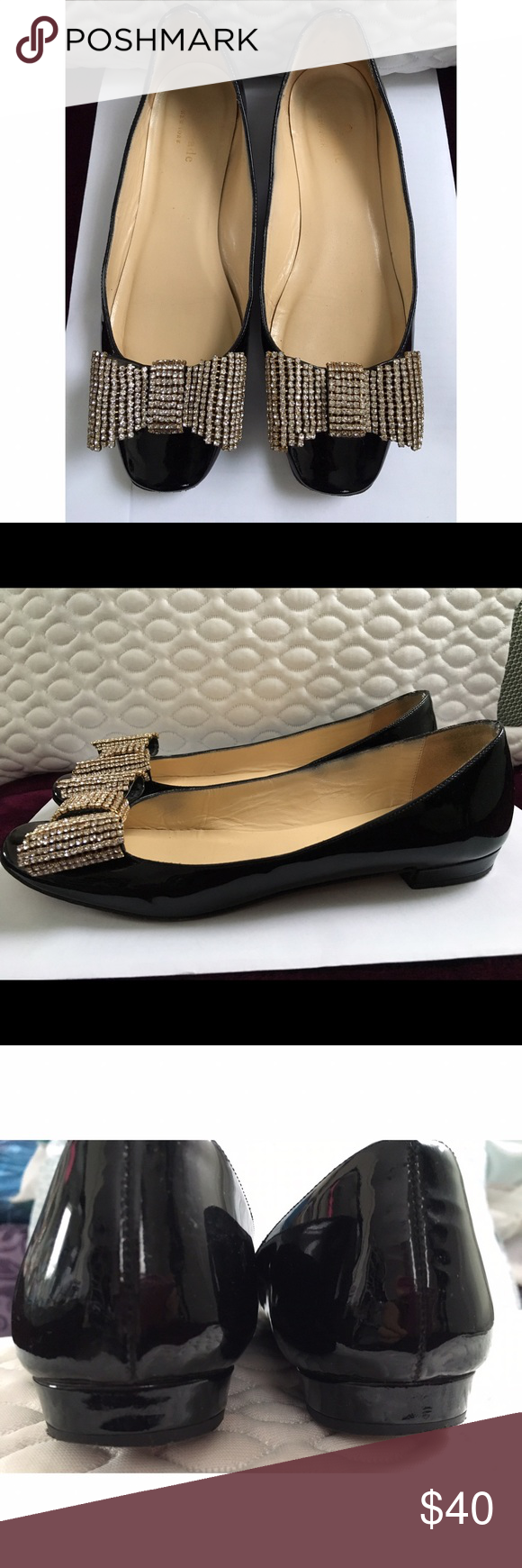 KATE SPADE, Black Shoes. Preowned Kate Spade Black Shoes. Size 6. kate spade Shoes Flats & Loafers