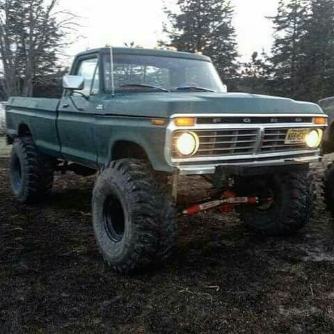 Pin By Jacob Larison On Old Trucks 4x4 2x4 30s 70s Ford Pickup Trucks Ford Trucks Cool Trucks