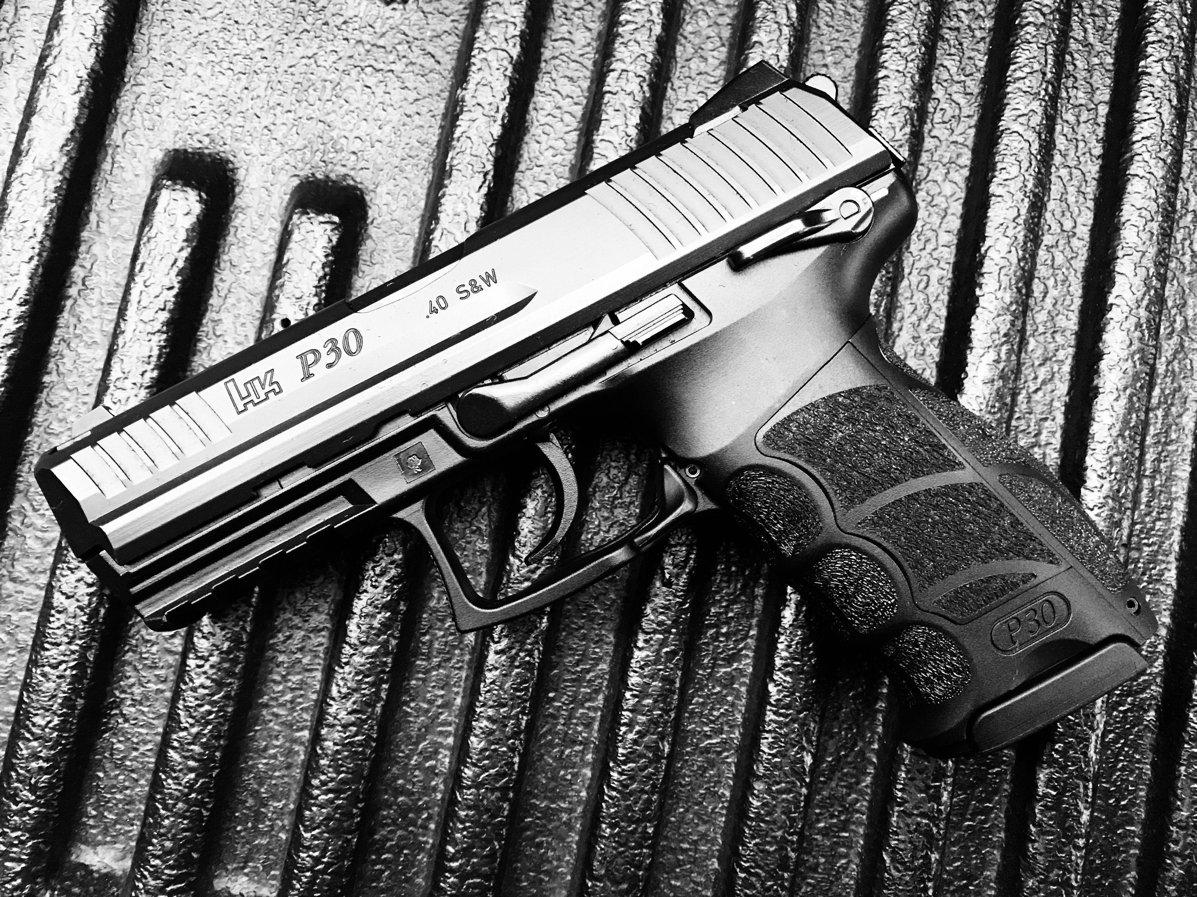 Heckler & Koch- HK P30  40SW   Weapons   Hand guns, Guns