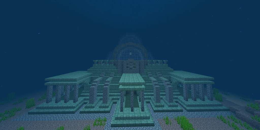 The New Ocean Monument Con Imagenes Arquitectura Minecraft