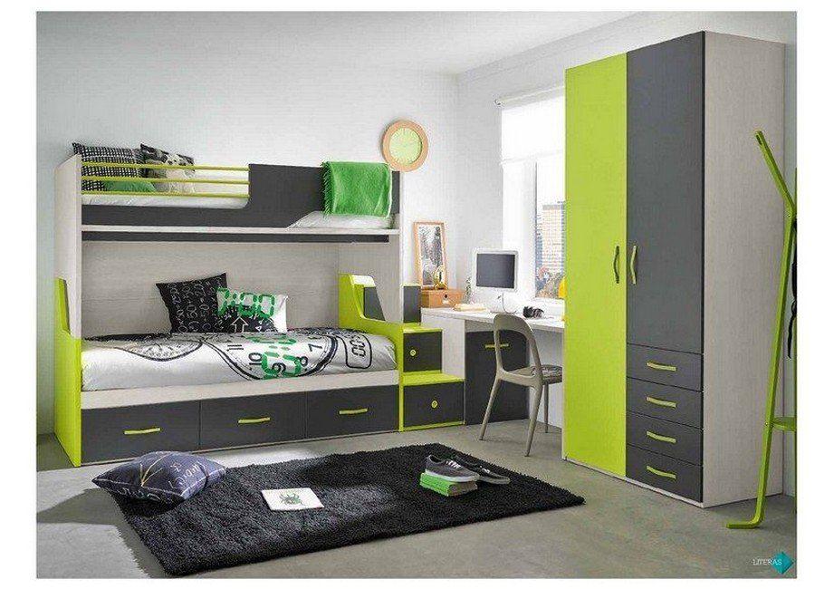 Habitaciones juveniles literas muebles valencia for Literas infantiles baratas
