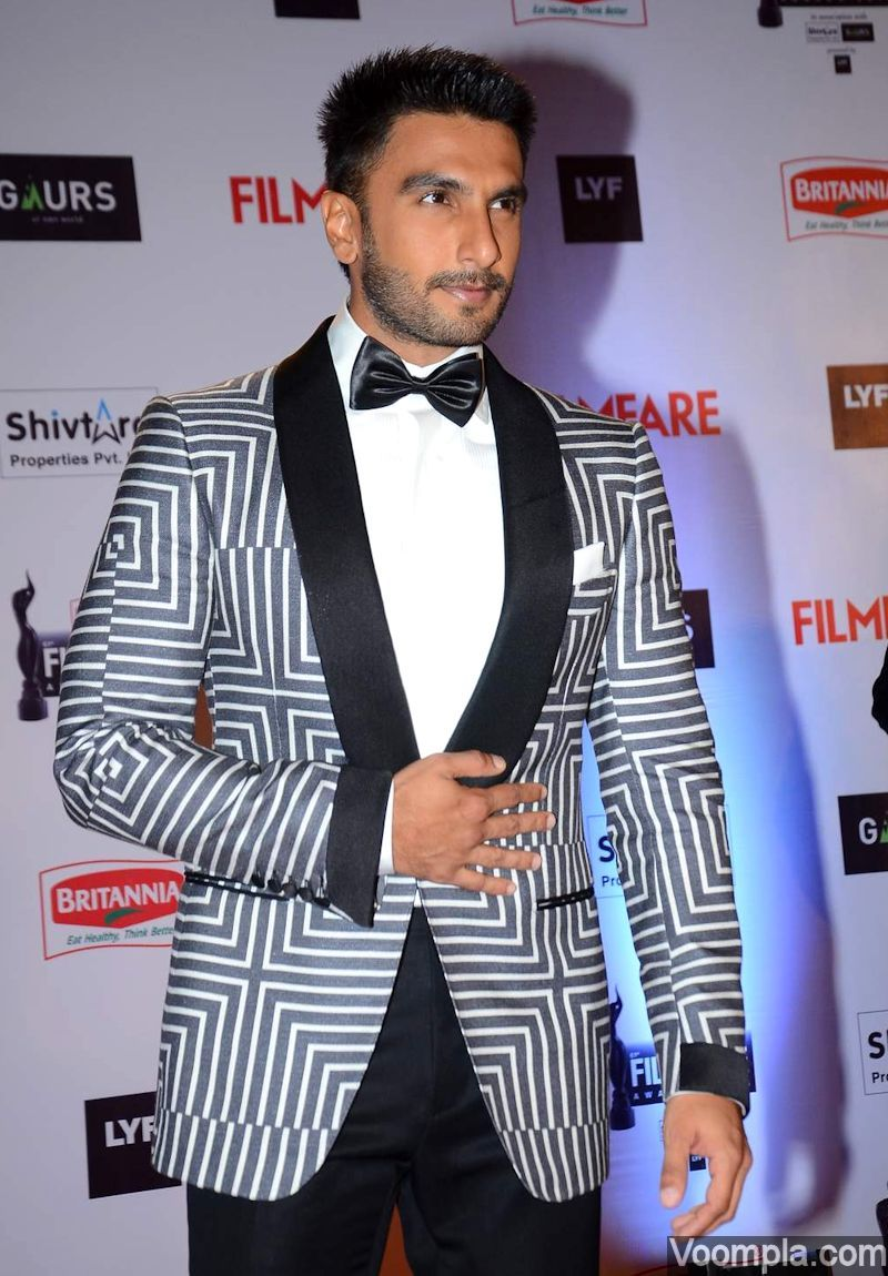 ranveer singh new hair style actors and actresses sizzle at filmfare awards 3726 | 229876e3a0eea93de0e29dda409eab73