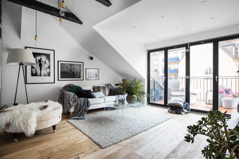 Scandinavian Penthouse Follow Gravity Home Blog