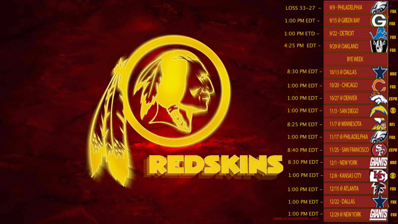 Best of Washington Redskins Wallpaper Full HD Pictures 12801024