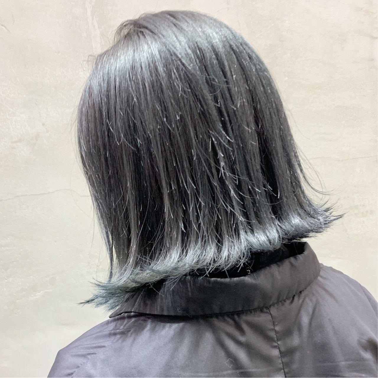 グレーヘアカラーが最旬 透明感あふれるトーン別スタイルを公開 Hair グレー ヘアカラー ヘアカラー ヘアスタイル ロング