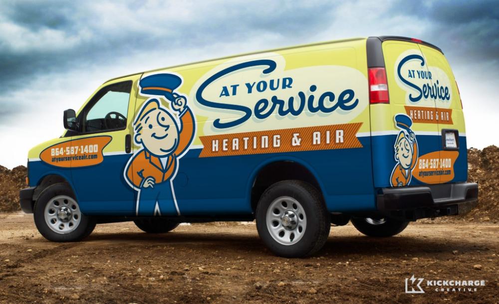 At Your Service Heating Air Kickcharge Creative Kickcharge