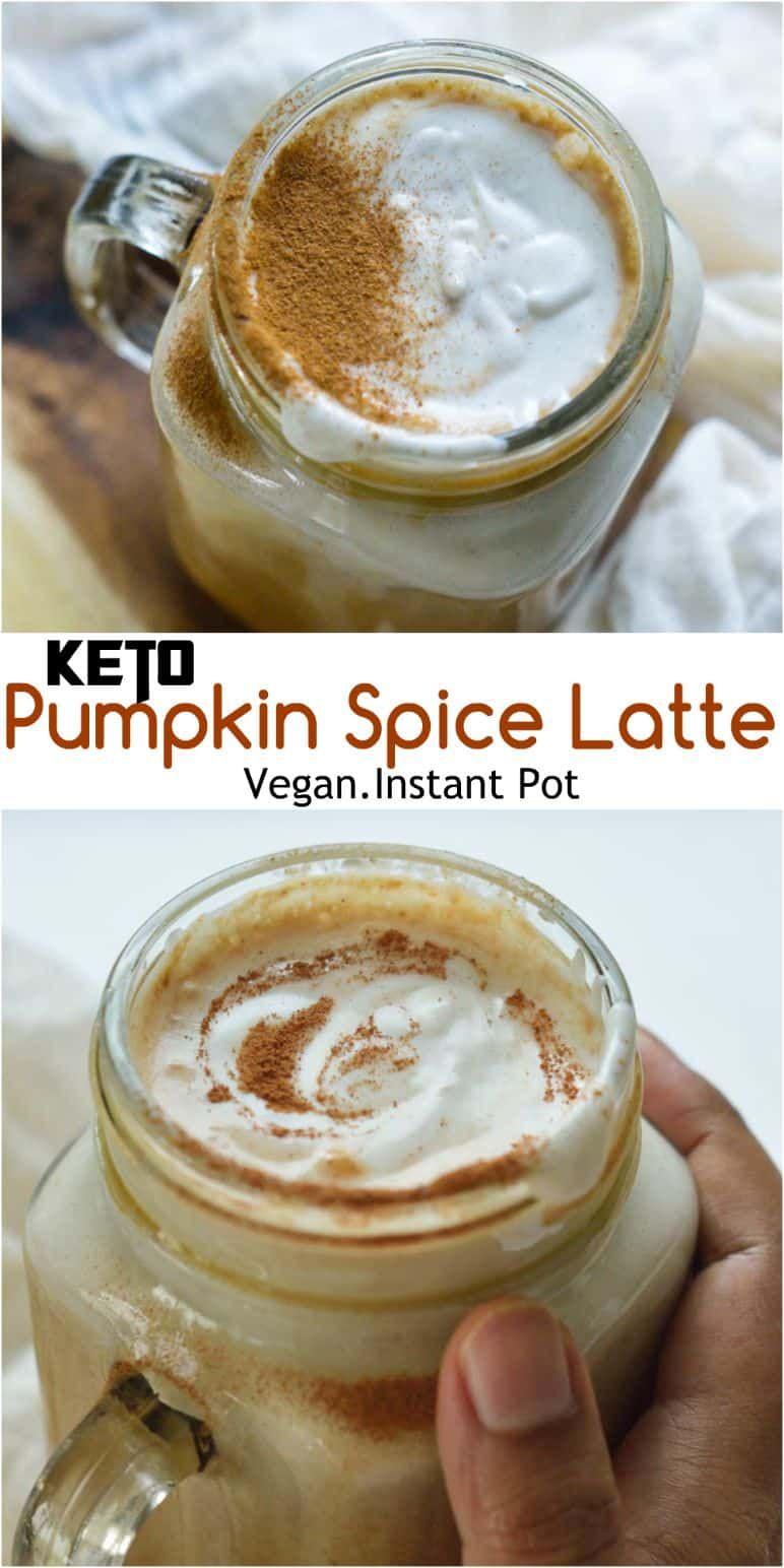 Keto Pumpkin Spice Latte My Dainty Soul Curry Recipe In 2020 Spiced Latte Pumpkin Spice Pumpkin Spice Latte