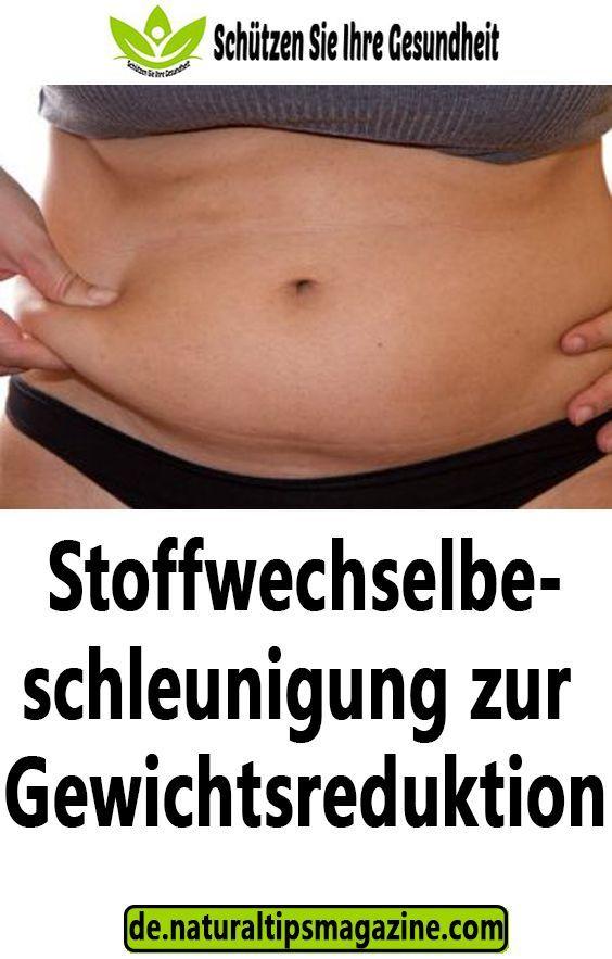 Stoffwechselbeschleunigung zur Gewichtsreduktion..