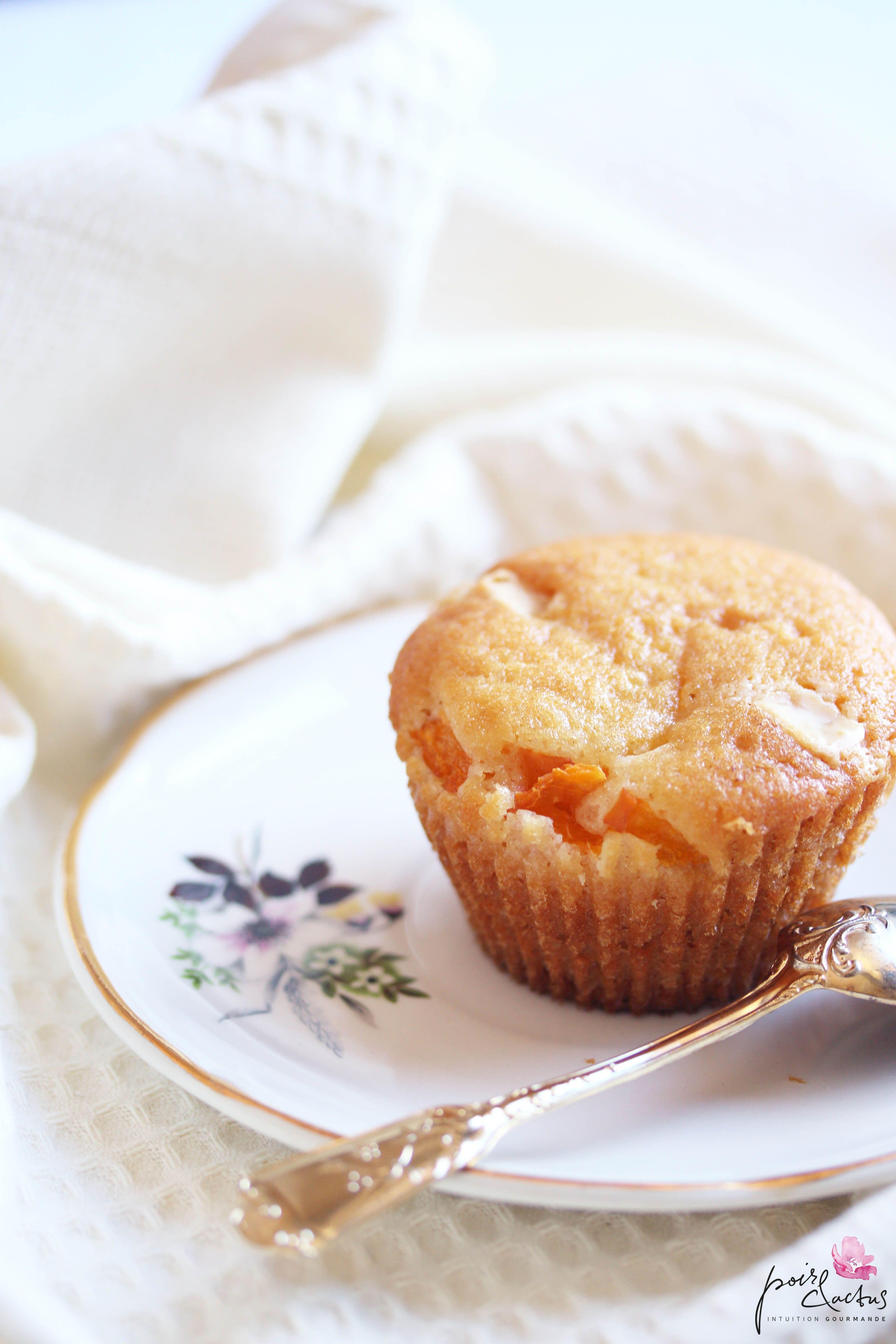 Muffins Abricots Chocolat Blanc Et Fleur D Oranger Cuisine