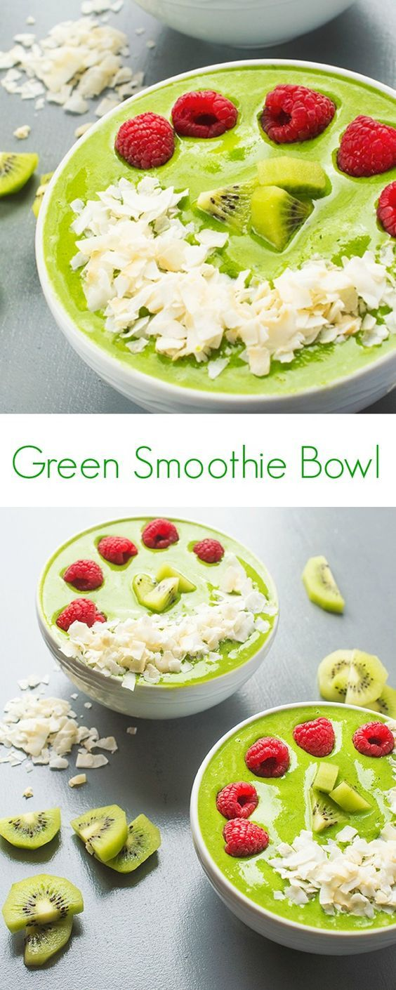 Green Smoothie Bowl Recipe - The the perfect easy, healthy